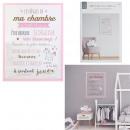mayorista Regalos y papeleria: enmarca las reglas de la habitación de la niña