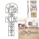 wholesale Gifts & Stationery: hopscotch sticker to put on the floor