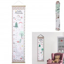 child girl textile height chart
