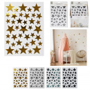 wholesale Wall Tattoos: stars wall sticker, 4- times assorted