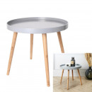 table round round gray, 1- times assorted