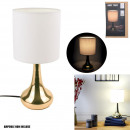 lampe touch dore blanc