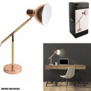 Wood and metal copper gm lamp, 1-fold assorted