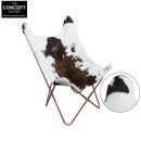 butterfly cow and copper armchair, 1- times assort