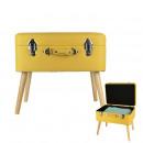 maleta amarilla seguro, de una sola vez surtido