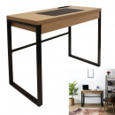 wholesale Office Furniture: Wooden and metal desk, 1-fold assorted