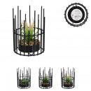 wired artificial plant 11.8cm, 3- times assorted