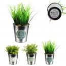 artificial plant pot metal my little market, 3-