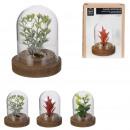 groothandel Kunstbloemen: decoratieve bel kunstplant 8cm, 3-voudig