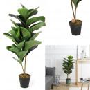 ingrosso Giardinaggio & Bricolage: pianta verde artificiale in vaso 90 cm