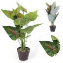 plante artificielle en pot 55cm, 2-fois assorti