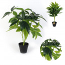 artificial green plant in pot 60cm