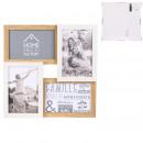 groothandel Foto's & lijsten: pele-mele 4 uitzichten van hout en wit