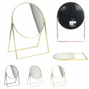beauty mirror to put 20cm, 3- times assorted