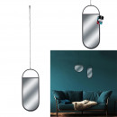 oval hanging mirror 45x18.5cm