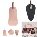 wholesale Mirrors: pink copper mirror with handle, 3- times assorted