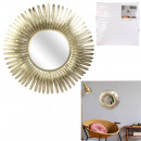 wholesale Mirrors: golden feather mirror 53cm