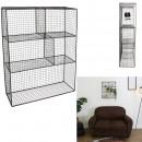 shelf wire mesh 50x15x60cm, 1- times assorted