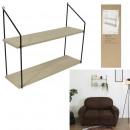 shelves 2 shelves 45.5x18x60cm, 1-fold