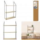 shelves 3 shelves 87.5x18x60cm, 1-fold