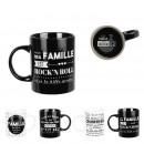 mug famille 300ml, 4-fois assorti