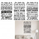 wholesale Wall Tattoos: wall sticker, 3- times assorted