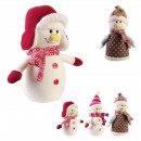 stop door snowman, 3- times assorted