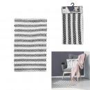 blue patterns beige rug 50x80cm, 1- times assorted