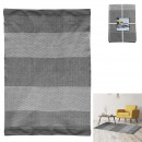 carpet gray strips 140x200cm, 1- times assorted