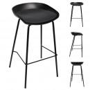 bar stool hella black, 1- times assorted
