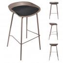 beige hella bar stool, 1- times assorted