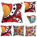 wholesale Cushions & Blankets: Pillow 40x40 cm wax, 3- times assorted