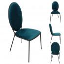 chair Louis blue
