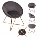 gray karl chair