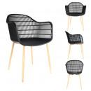black becker chair