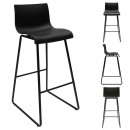 bar chair novaei pp black