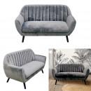 2 seater sofa Sofiavelvet Grey
