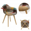louisiana patchwork armchair