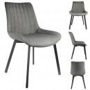 boston gray chair