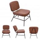 brown detroit armchair