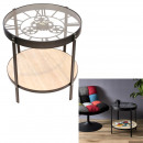 side table clock 50.5x50.5x49cm
