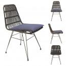 czarne krzesło surabaya