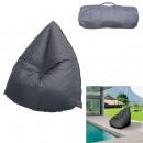 dark gray fizz beanbag