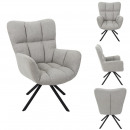 swivel armchair washington gray
