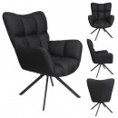 swivel chair washington black