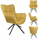 swivel chair washington yellow
