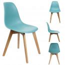 scandinavian chair shell pp blue celadon