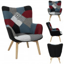 wholesale Home & Living: patchwork milano armchair