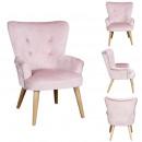 pink children's helsinki armchair