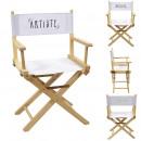 silla de director de artista